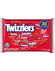 TWIZZLERS Licorice Assorted Bag, Twizzler Twists, Nibs, Pull and Peels, Halloween Candy to Share, Bulk Candy, 30 Count (374G)