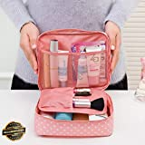 Gatton Travel Makeup Cosmetic Toiletry Case Wash Organizer Storage Pouch Hanging Bag |