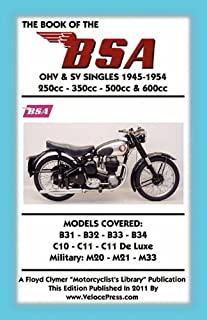 bsa pre unit singles owners workshop manual no 326 54 61 haynes rh amazon de BSA Single Cylinder Motorcycles Royal Enfield Manual