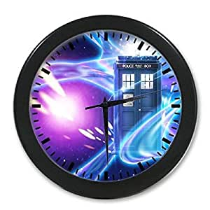 Home decor unique doctor who tardis custom Cool digital wall clock