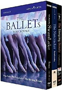 Tchaikovsky: The Ballets (Swan Lake, Sleeping Beauty, The Nutcracker) (Sous-titres français) [Import]