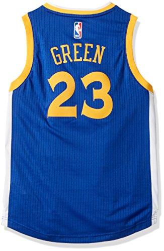 Outerstuff NBA Golden State Warriors Draymond Green Boys Player Swingman Road Jersey, Medium (10-12), Blue by Outerstuff