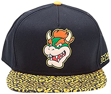 Amazon.com  Nintendo Super Mario Bros Animal Bowser Snapback Cap ... dec7ec9cb24