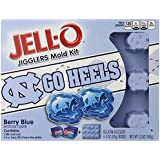 JELL-O Dessert Mold Kit, University of North Carolina, Berry Blue, 12 Ounce.