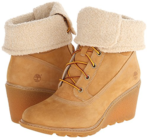 Timberland Women's Earthkeepers  Amston Roll-Top Wheat 7 B - Medium by Timberland (Image #6)