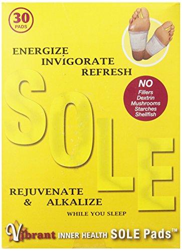 TRR Enterprises Vibrant Inner Health Sole Pads, 30 Count by Trr®