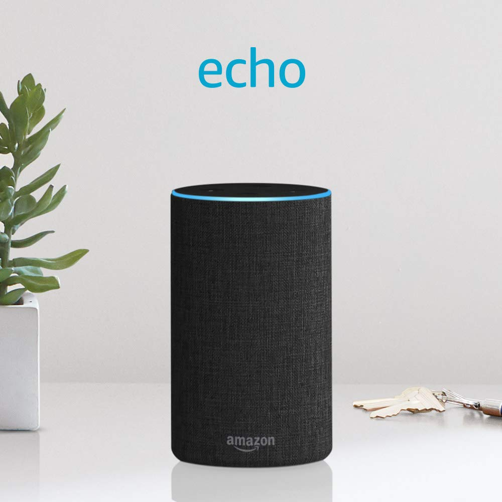 Echo (2nd Generation) - Smart speaker with Alexa