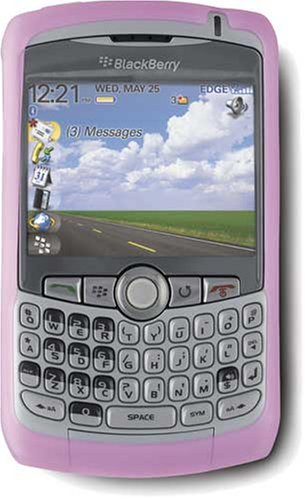 BlackBerry Rubberized Skin for 8300 Curve (Magenta) ()