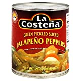 La Costena Slice Jalapeno Pepper, 28 Ounce - 12 per case.