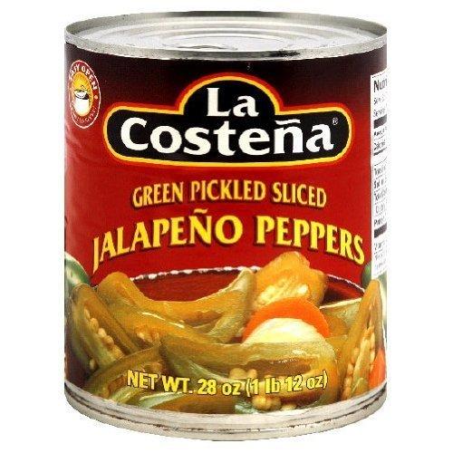La Costena Slice Jalapeno Pepper, 28 Ounce - 12 per case.