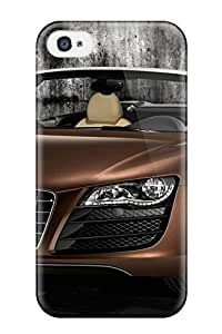 Anne Harris Pena's Shop Tough Iphone Case Cover/ Case For Iphone 4/4s(audi R8 Spyder 13) 7328765K60060985