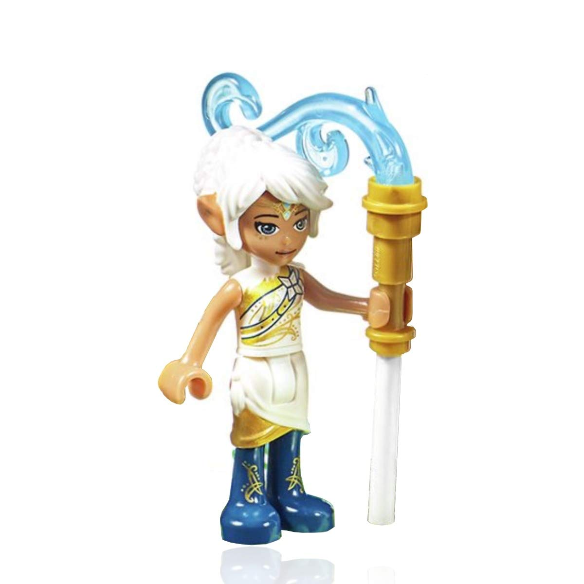 LEGO Elves Minifigure Set 41193 with Power-up Staff Lumia