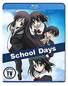 School Days Complete TV Series Blu Ray [Blu-ray]