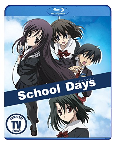 School Days Complete TV Series Blu Ray