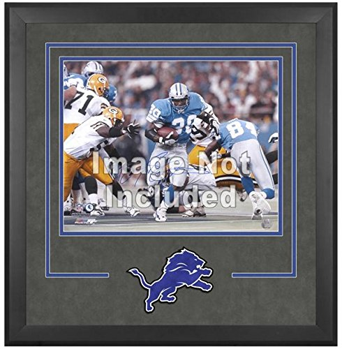 Detroit Lions Deluxe 16x20 Horizontal Photograph Frame by Mounted Memories