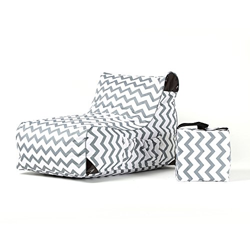 Ove Decors Paola Chevrons Outdoor Lounge Chair (Chaise Chevron)