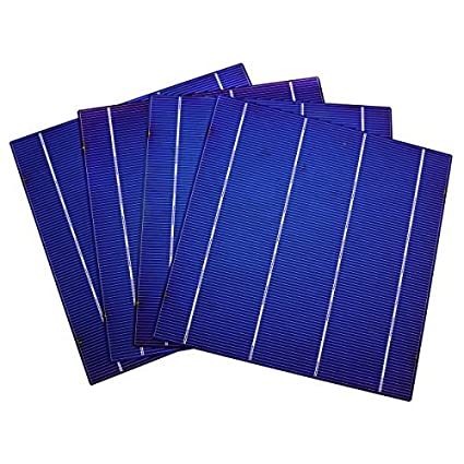 Amazon com : Fisters DIY 100W Solar Panel- 25pc 6x6 Solar