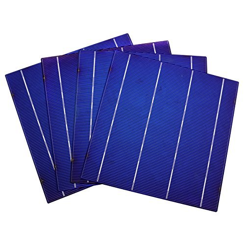 255w Solar Panel - Fisters DIY 100W Solar Panel- 25pc 6x6 Solar Cells Kit w/Tabbing Bus Wire Flux Pen