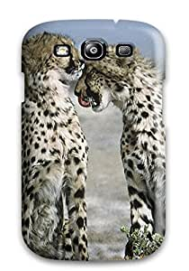 ElsieJM Design High Quality Cheetahs Animal Cover Case With Excellent Style For Galaxy S3