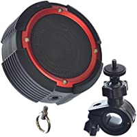 GOSO Vortex Bicycle Bluetooth Speaker, RED (Pack of 4)