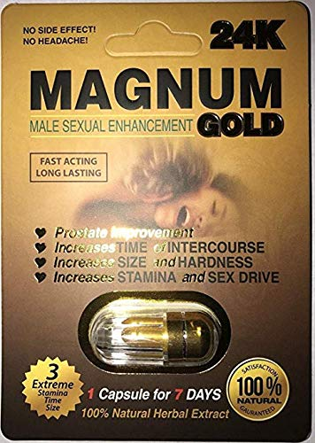 - Magnum 24K Gold Male Sexual Enhancement Pills (20)