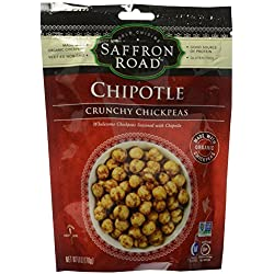 Saffron Road Crunchy Chickpeas, Chipotle, 6 Ounce by Saffron Road