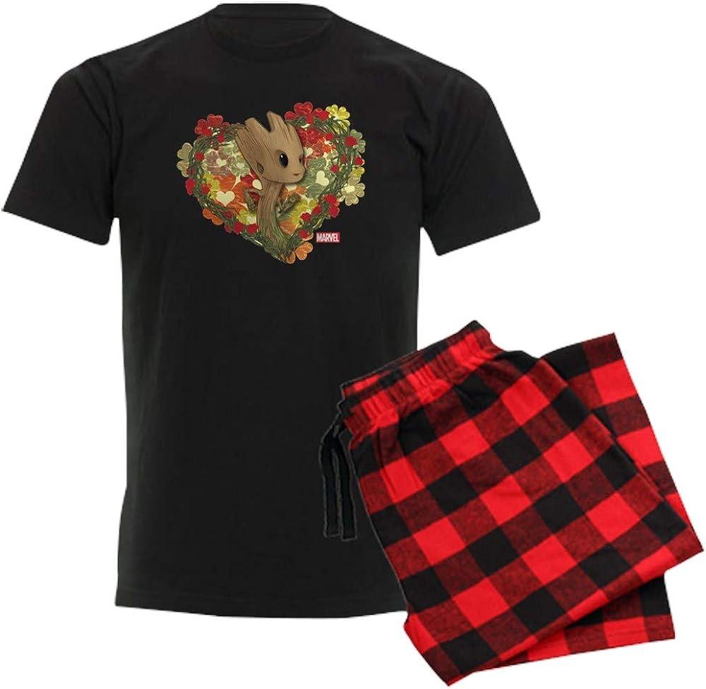 CafePress GOTG Baby Groot Valentine Pajama Set