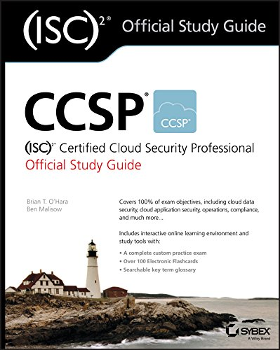 CCSP (ISC)2 Certified Cloud Security Professional Official Study Guide cover