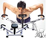 ShopyBucket Fitness Pump Toner Six Pack Biceps Push up home gym Chest Arms Shoulders Legs Workout Training Machine Abcare Ab Exerciser