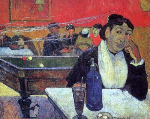 Gauguin Cafe Night - Paul Gauguin Night Cafe at Arles - 20.05