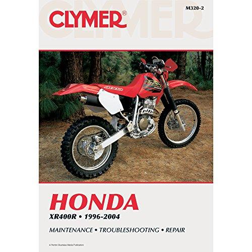 Vintage Honda Motorcycles - 1996-2004 CLYMER HONDA MOTORCYCLE XR400R SERVICE MANUAL NEW M320-2