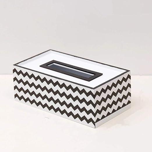 Stangent - Caja de pañuelos de Madera Simple para Decorar el salón ...