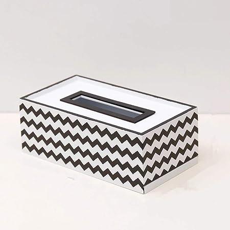 Stangent - Caja de pañuelos de Madera Simple para Decorar el salón o el Comedor: Amazon.es: Hogar