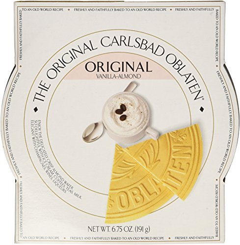 The Original Carlsbad Oblaten 6.75 Oz. Gift Tin, Vanilla-almond by The Original Carlsbad Oblaten