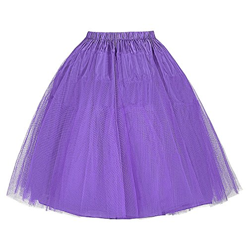 Poque Bp56 Belle 8 in Donna Gonna da stile vintage tulle ASH4BqSwx