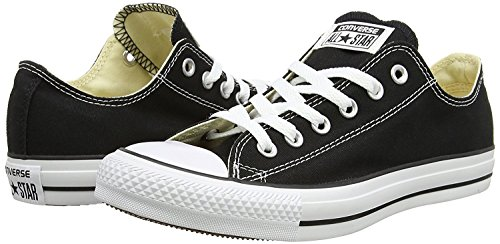Unisex Chuck Taylor All Star Ox Low Top Classic Black Sneakers - 4.5 D (M) US