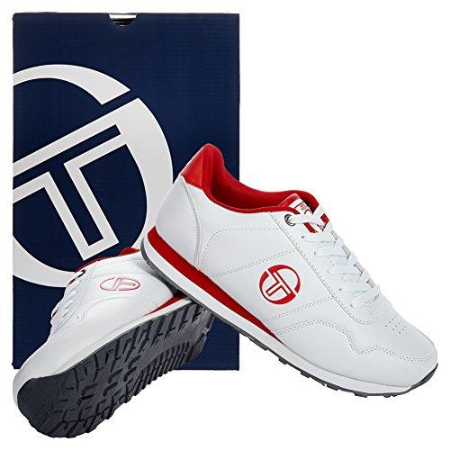 Gaspari Tops Weiß Sergio Sneaker Low TTG00910 Herren Tacchini Rot fwxwqzP4Y1