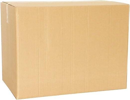 Cajas de embalaje de cartón resistente Caja de cartón corrugado para el envío y almacenamiento Cajas móviles de color marrón para eliminación Envíos Cajas de mudanzas de envío Cajahand buckle-90*60*70: Amazon.es: Hogar