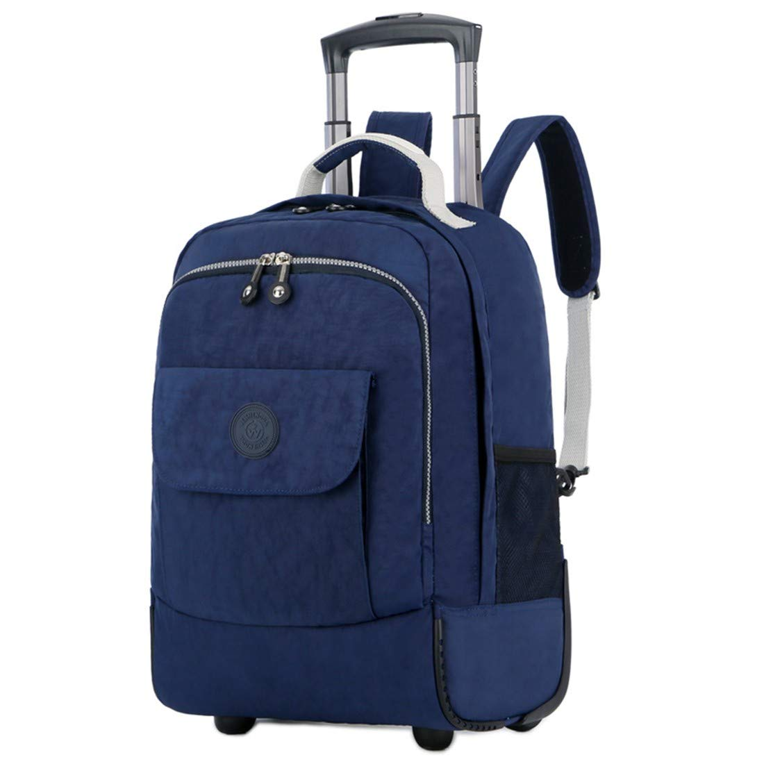 CEQT Rolling Luggage Travel Backpack Hombro Spinner Mochilas Ruedas de Gran Capacidad para Maletas Trolley Carry On Bag, Azul: Amazon.es: Electrónica