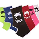 Venum Muay Thai/Kick Boxing Ankle Support Guard, Red