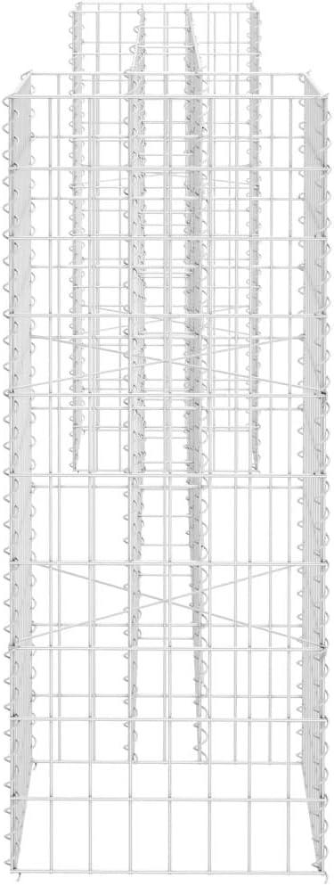 260x40x100 cm Tidyard H-f/örmiger Gabionen-Pflanzkorb Gabione Pflanzk/übel Hochbeet Gabionen-Pflanzgef/ä/ß Pflanzmaschine Stahldraht 260x40x40 cm 260x40x150 cm 260x40x200 cm