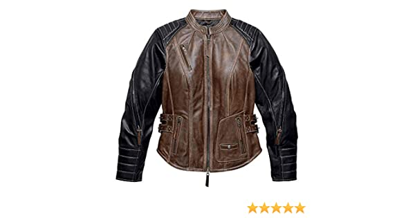 eea126ef2f50 Harley-Davidson Women s Distressed Capitol Leather Jacket