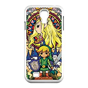 Samsung Galaxy S4 9500 Cell Phone Case White Legend of Zelda jte