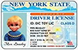 Mrs. Beasley Laminated Driver's License