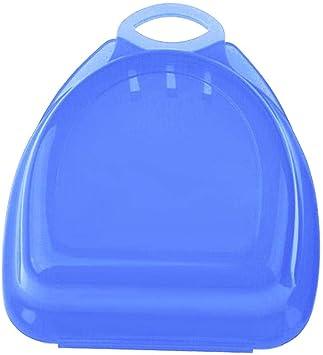 Teabelle Protector de Boca Dentadura Funda para Férula Dental Dientes Guardia Caja para Ortodoncia Protesis de de Baloncesto Azul: Amazon.es: Juguetes y juegos