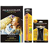 Prismacolor Verithin Colored Pencil and Accessory Set, Set of 36 Prismacolor Verithin Colored Pencils, One Prismacolor Pencil Sharpener, and a 2-pack of Prismacolor Colorless Blender Pencils É
