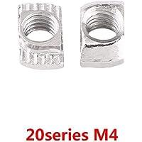 50pcs M4, M5, M6, M8 Tuercas de Cabeza