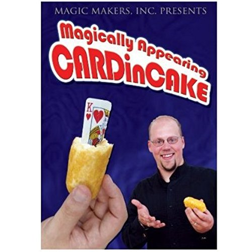 Magic Makers Magically Appearing Card in Cake DVD with Matt Hampel