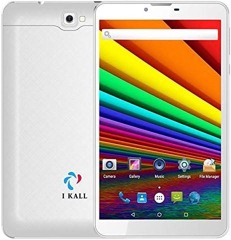 I KALL N9 Dual Sim 3G Calling Tablet (7 Inch Display, 2GB Ram, 16GB Storage, Dual Sim + WiFi + Calling) (White)