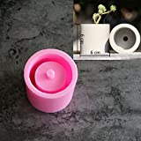 (US) Pinkie Tm 6X6X6cm round shape vase concrete planter mold handmade craft home decoration geometry cement flowerpot molds